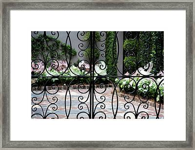 47 Meeting St. Framed Print