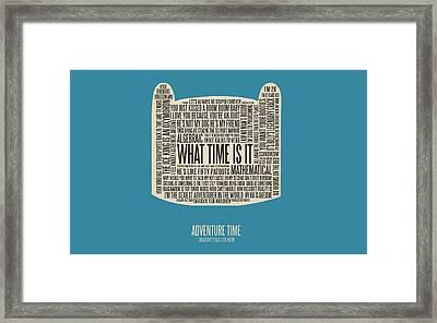 47576 Adventure Time Framed Print