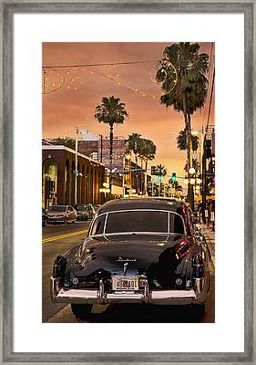 Framed Print featuring the photograph 48 Cadi by Steven Sparks