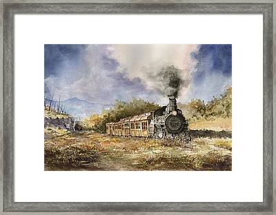 481 From Durango Framed Print by Sam Sidders