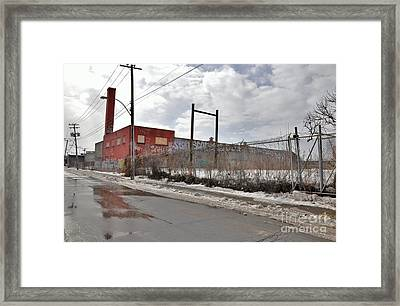 4814 Dunn Street Urban Exploration Framed Print by Reb Frost