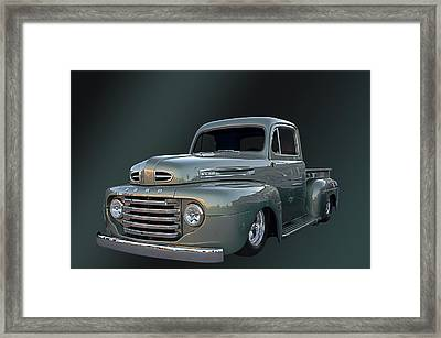 49 Ford Pick Up Framed Print by Jim  Hatch