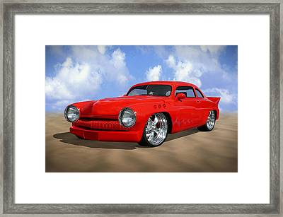 49 Mercury Framed Print by Mike McGlothlen