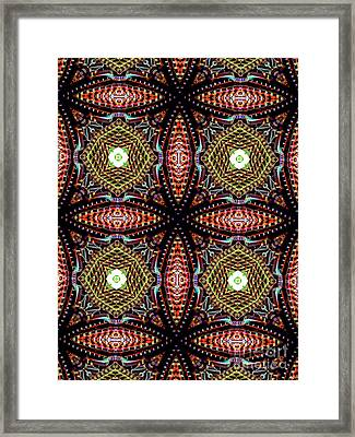 Unique Design Pattern Framed Print by Amy Cicconi