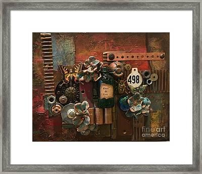 498 Framed Print