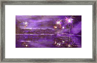 4rh Of July Celebration Framed Print by Terry Honstead