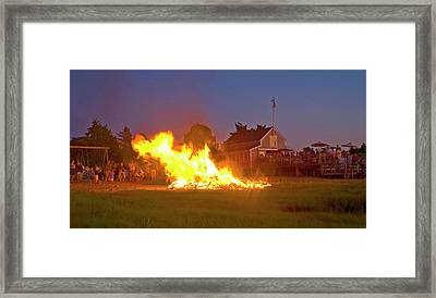 4th Of July 2010 Byc Framed Print by Charles Harden