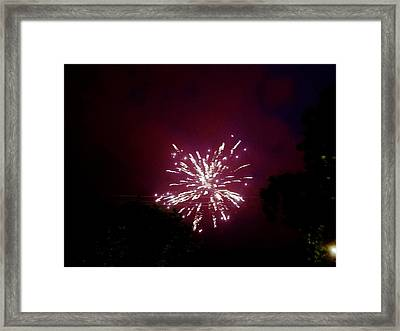 4th Of July 2017 Smoke Skies Washington D C  Framed Print