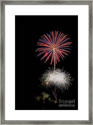 4th Of July Fireworks 1 Framed Print by Eyal Aharon