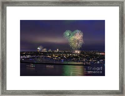 4th Of July Fireworks Framed Print