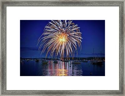 4th Of July Fireworks Framed Print