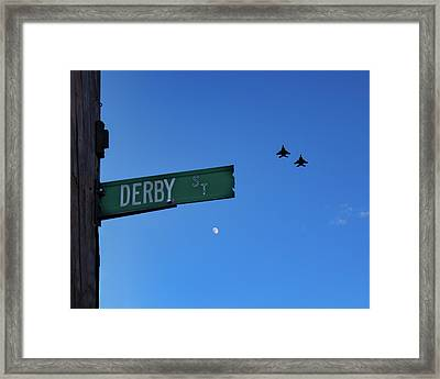 Framed Print featuring the photograph 4th Of July In Salem by Jeff Folger