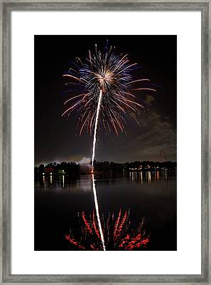 4th Of July Framed Print by Lone Dakota Photography
