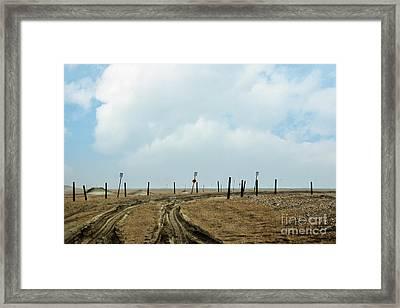 4x4 Trail Framed Print by Tom Gari Gallery-Three-Photography