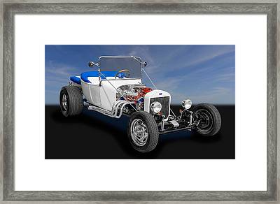 1923 Ford T-bucket Roadster Framed Print by Frank J Benz