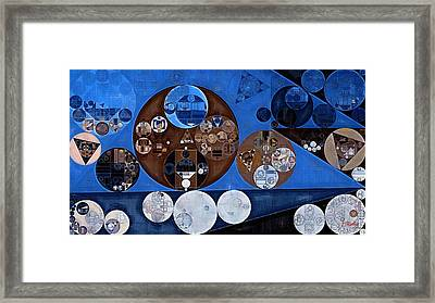 Framed Print featuring the digital art Abstract Painting - Ghost by Vitaliy Gladkiy