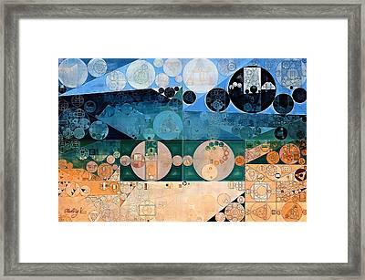 Abstract Painting - Pancho Framed Print by Vitaliy Gladkiy