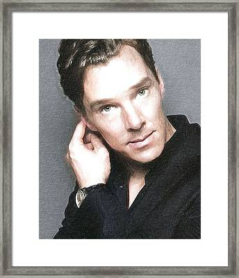 Actor Benedict Cumberbatch  Framed Print by Best Actors
