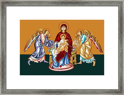 Angels Framed Print by Munir Alawi