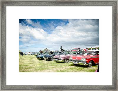 Antique Cars Framed Print by Mirra Photography