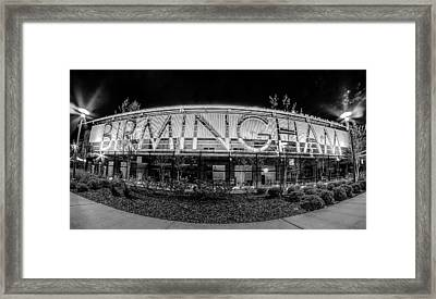 April 2015 - Birmingham Alabama Regions Field Minor League Baseb Framed Print