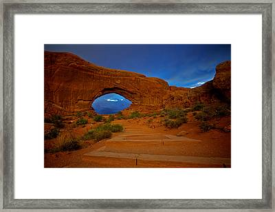 Framed Print featuring the photograph Arches by Evgeny Vasenev