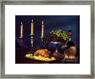 Artistic Food Still Life Framed Print by Oleksiy Maksymenko