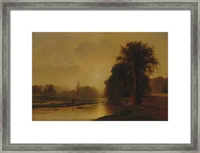 Autumn Meadows Framed Print