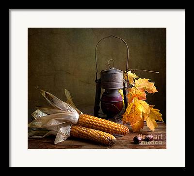 Wicker Basket Framed Prints