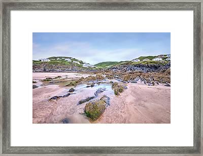 Barricane Beach - England Framed Print by Joana Kruse