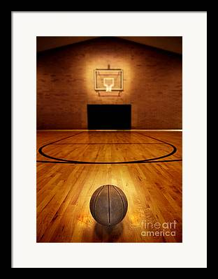 Three Pointer Framed Prints