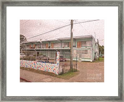 Belize Ywca Building Framed Print by Jason Freedman