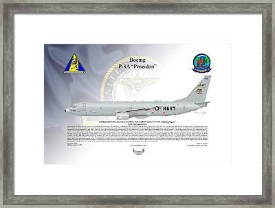 Boeing P-8a Poseidon Framed Print
