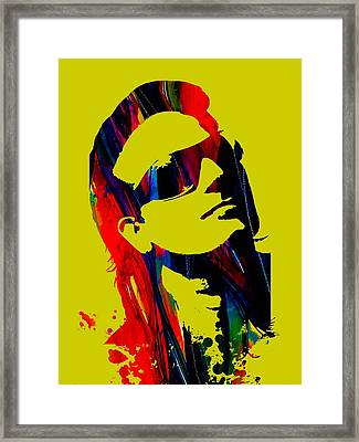 Bono Collection Framed Print