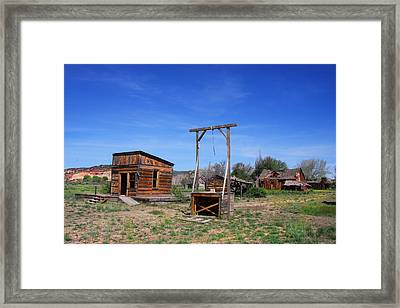 Capitol Reef National Park Americana Framed Print