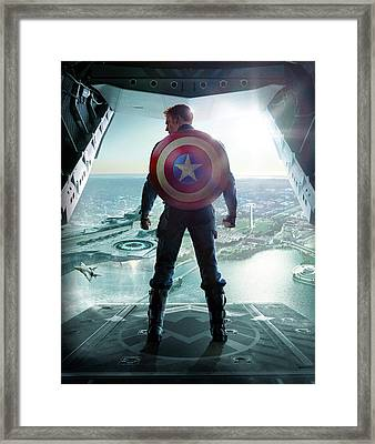 Captain America The First Avenger 2011 Framed Print