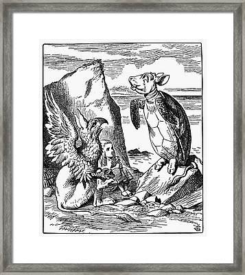 Carroll: Alice, 1865 Framed Print