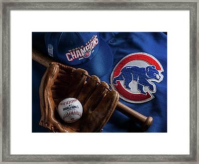 Chicago Cubs Framed Print by Bob Nardi