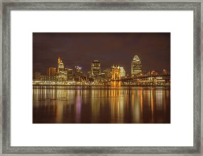 Cincinnati, Ohio Framed Print by Scott Meyer