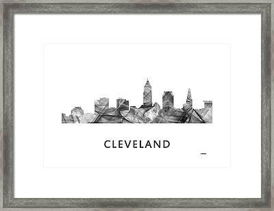Cleveland Ohio Skyline Framed Print