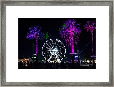 Coachella Music Festival 2015 Framed Print