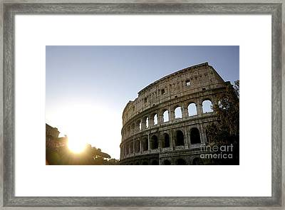 Coliseum. Rome Framed Print by Bernard Jaubert