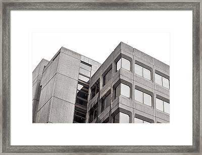 Concrete Building Framed Print