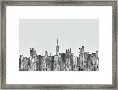 Cork Ireland Skyline Framed Print