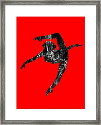 Dance Collection Framed Print