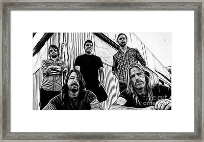 Dave Grohl Foo Fighters Framed Print