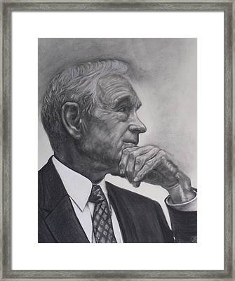 Dr. Ron Paul Framed Print