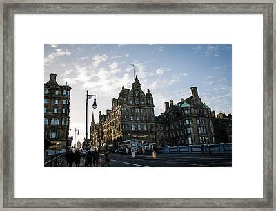 Edinburgh Framed Print