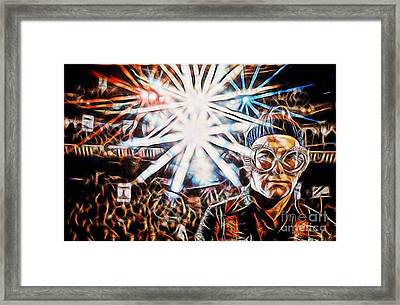 Elton John Collection Framed Print