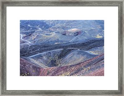 Etna - Sicily Framed Print